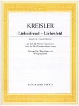 Liebesfreud Fritz Kreisler Partition Cor - laflutedepan.com