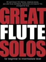 Great Flute Solos Partition Flûte traversière - laflutedepan.com
