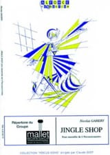 Jingle Shop Nicolas Gahery Partition laflutedepan.com