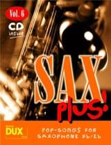 Sax plus! volume 6 Partition Saxophone - laflutedepan.com