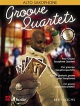 Groove Quartets Bert Lochs Partition Saxophone - laflutedepan.com