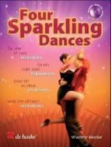 Four Sparkling Dances Wladimir Wecker Partition laflutedepan.com