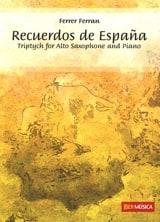 Ferrer Ferran - Recuerdos de Espana - Partition - di-arezzo.fr