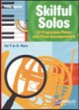Skilful Solos Philip Sparke Partition Cor - laflutedepan.com