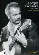 Georges Brassens - 1921-1981 the Complete Work volume 1 - Sheet Music - di-arezzo.com