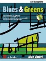 Blues & Greens Allen Vizzutti Partition Saxophone - laflutedepan.com