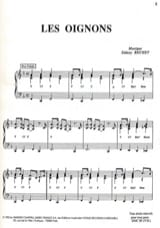 Sidney Bechet - The onions - Sheet Music - di-arezzo.com