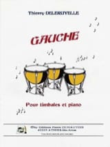 Gauche Thierry Deleruyelle Partition Timbales - laflutedepan.com