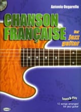 Antonio Ongarello - Chanson Française For Jazz Guitar - Partition - di-arezzo.fr