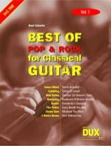 Best of pop & rock for classical guitar volume 7 laflutedepan.com