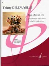 Face à face en trio Thierry Deleruyelle Partition laflutedepan.com