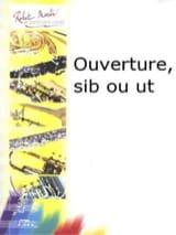 Ouverture Francine Aubin Partition Trompette - laflutedepan.com