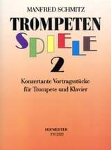 Trompetenspiele 2 Manfred Schmitz Partition laflutedepan.com