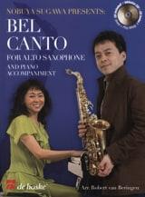Bel Canto For Alto Saxophone Partition Saxophone - laflutedepan.com