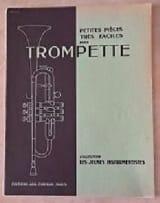 Petites pièces très facile pour trompette Partition laflutedepan.com