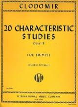 Pierre-François Clodomir - 20 Characteristic Studies Opus 18 - Partition - di-arezzo.fr