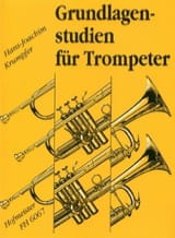 Hans-Joachim Krumpfer - Grundlagenstudien Für Trompeter - Partition - di-arezzo.fr