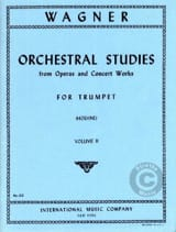 Richard Wagner - Orchestra Studies For Trumpet Volume 2 - Partition - di-arezzo.fr