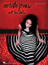 Not Too Late Norah Jones Partition Jazz - laflutedepan.com