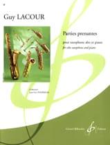 Parties Prenantes Guy Lacour Partition Saxophone - laflutedepan.com