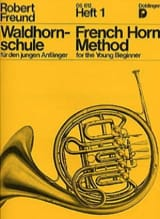 Robert Freund - French Horn Method Heft 1 - Partition - di-arezzo.fr