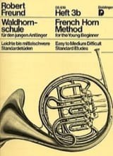 Robert Freund - French Horn Method Heft 3b - Partition - di-arezzo.fr