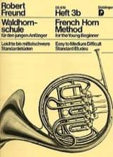 French Horn Method Heft 3b - Robert Freund - laflutedepan.com