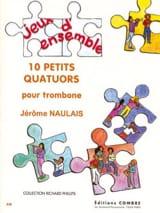 10 Petits Quatuors Jérôme Naulais Partition laflutedepan.com
