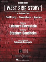 West Side Story Leonard Bernstein Partition Violon - laflutedepan.com