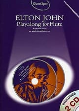 Elton John - Guest Spot - Elton John Playalong For Flute - Partition - di-arezzo.fr