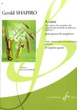 A Curse Gerald Shapiro Partition Saxophone - laflutedepan.com