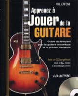 Phil Capone - Learn To Play Guitar - Sheet Music - di-arezzo.co.uk
