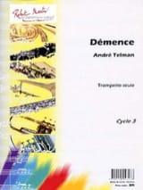 André Telman - Démence - Partition - di-arezzo.fr