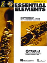 - Essential Elements. Clarinette Sib Volume 1 - Partition - di-arezzo.fr