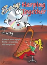 Easy Harping Together Rosetty Partition Harpe - laflutedepan