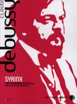 DEBUSSY - Syrinx - Sheet Music - di-arezzo.co.uk