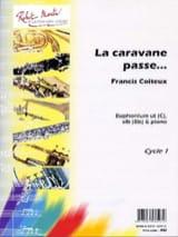 La Caravane Passe... Francis Coiteux Partition Tuba - laflutedepan