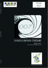 James Bond Thème Monty Norman Partition laflutedepan.com