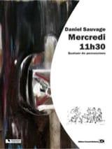 Mercredi 11h30 Daniel Sauvage Partition laflutedepan.com