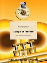Songe Et Fanfare André Telman Partition Trompette - laflutedepan.com