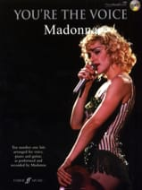 Madonna - You're The Voice - Partition - di-arezzo.fr