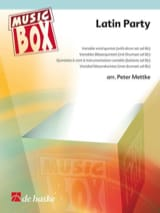 Latin party - music box Partition ENSEMBLES - laflutedepan.com