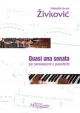 Nebojsa jovan Zivkovic - Quasi Una Sonata Opus 29 - Partition - di-arezzo.fr