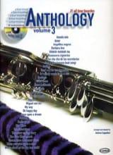 Anthology Volume 3 Partition Clarinette - laflutedepan.com