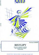 Bixylipy Nicolas Gahery Partition laflutedepan.com