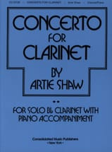 Concerto For Clarinet Artie Shaw Partition laflutedepan.com