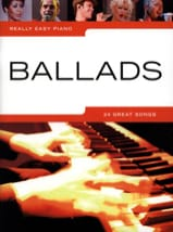 Really easy piano - Ballads Partition laflutedepan.com