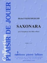 Saxonara Michel Nierenberger Partition Saxophone - laflutedepan.com
