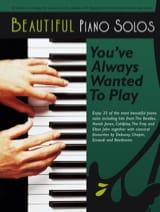 Beautiful Piano Solos Partition laflutedepan.com