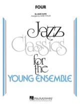Four. Jazz Band Miles Davis Partition ENSEMBLES - laflutedepan